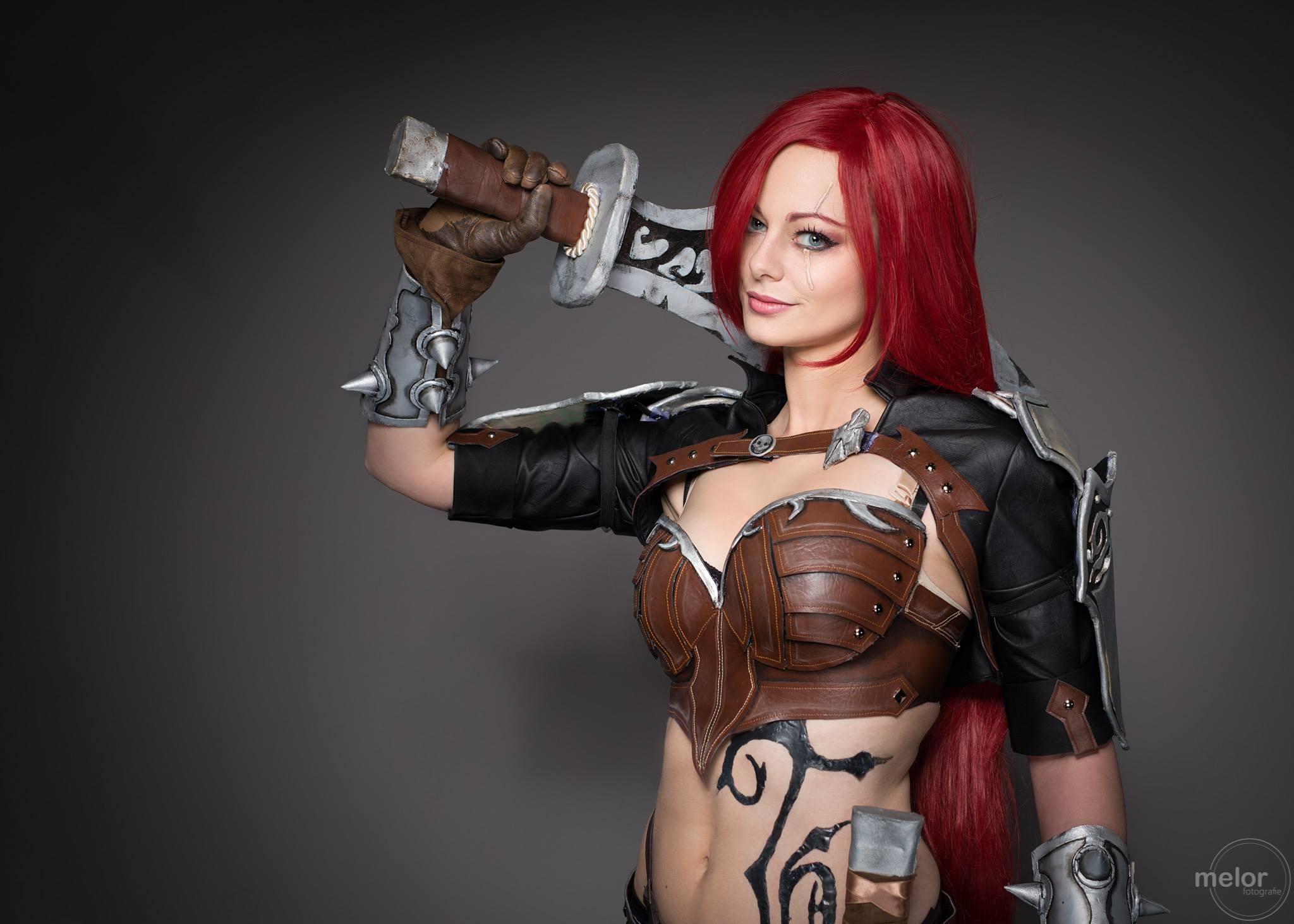 katarina lol cosplay costume by eden craft
