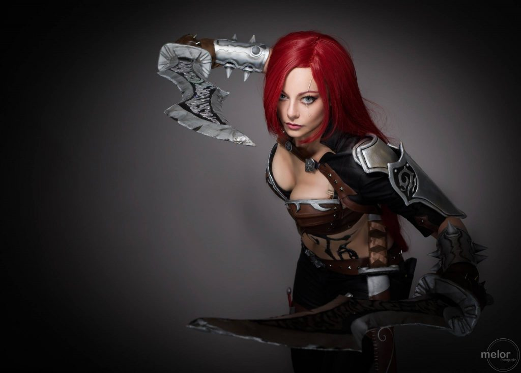 katarina league of legends cosplay by eden craft
