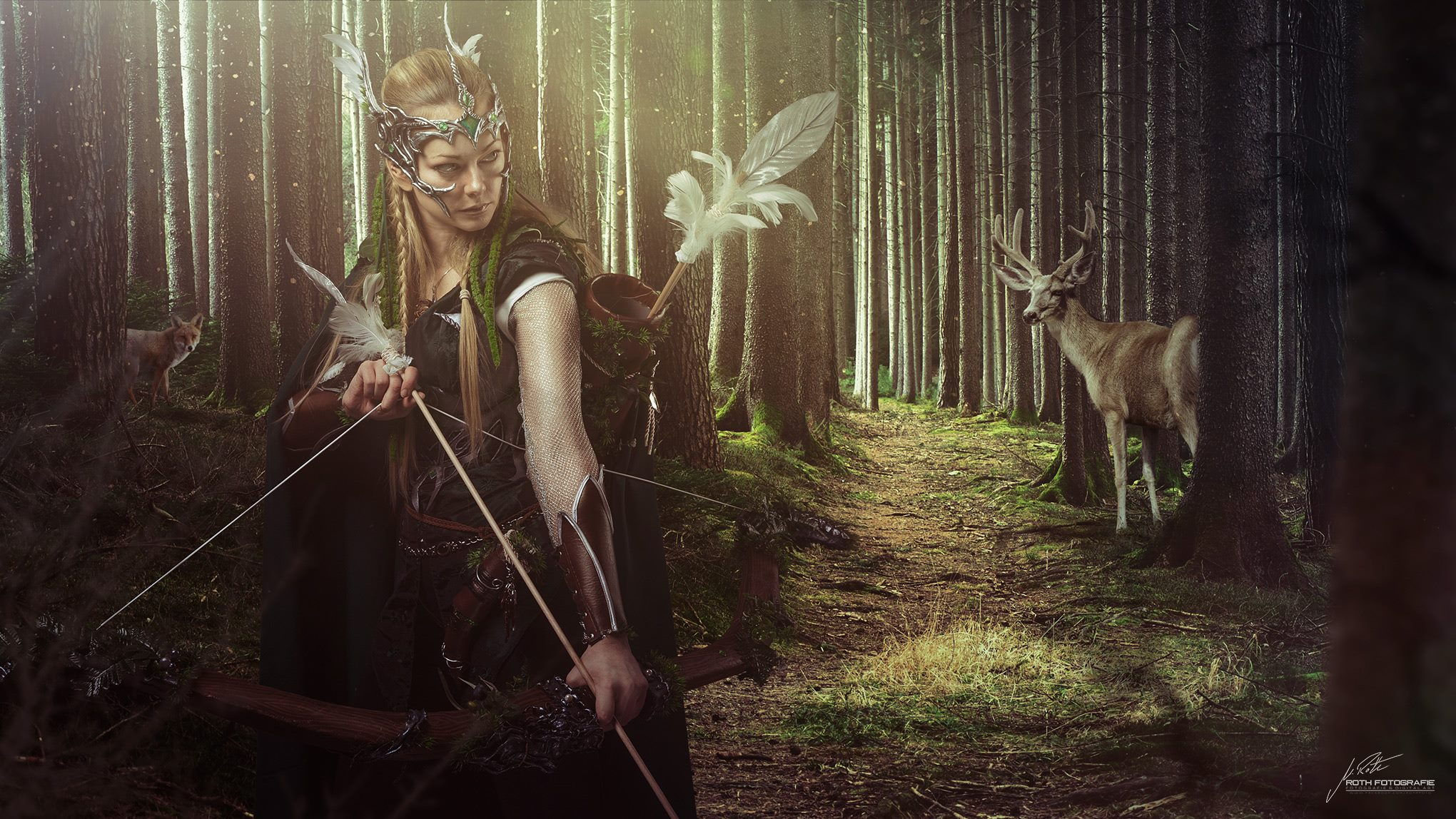 forest elf hunting