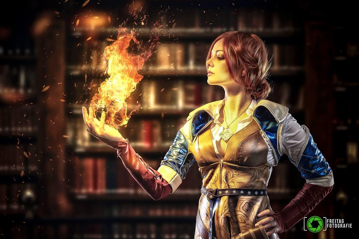 triss cosplay by eden craft