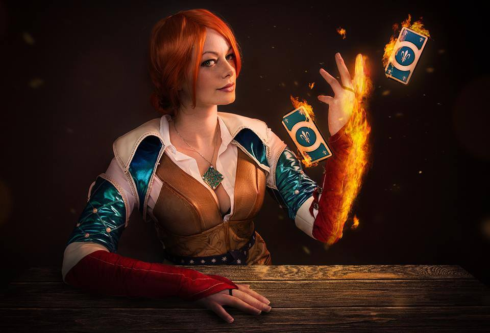 triss the witcher cosplay