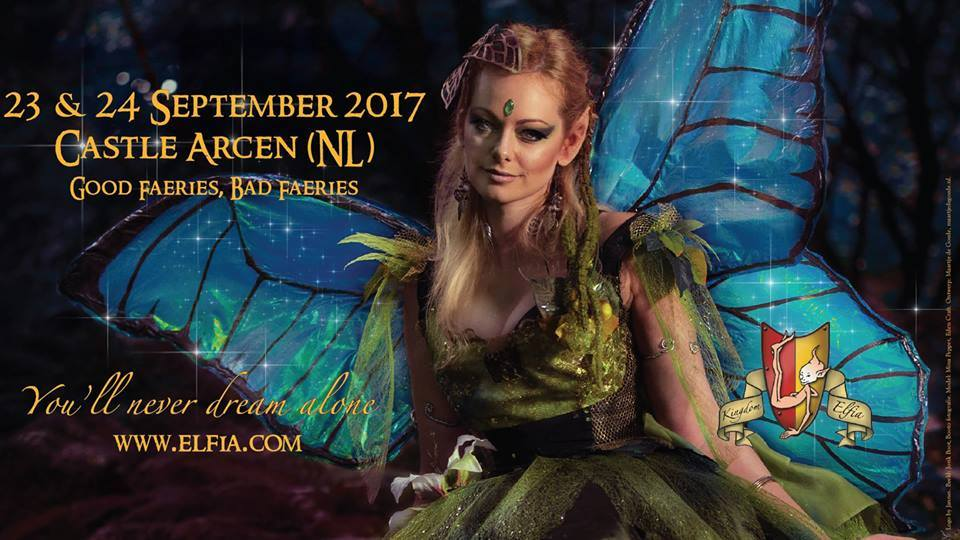 Face of biggest fantasy festival europe Elfia
