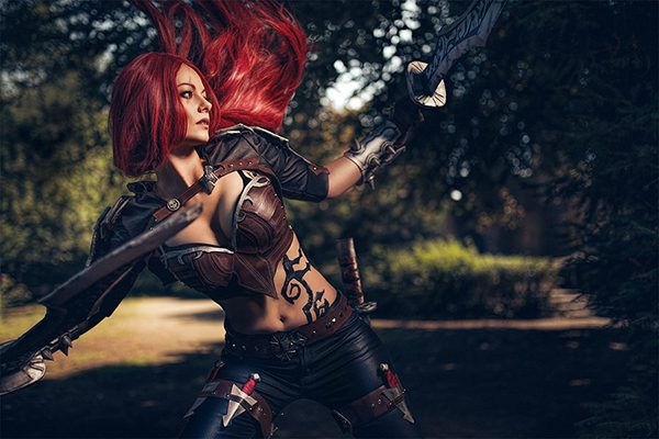 Katarina lol prints