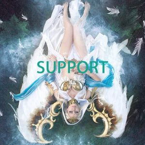 support epic cosplayer
