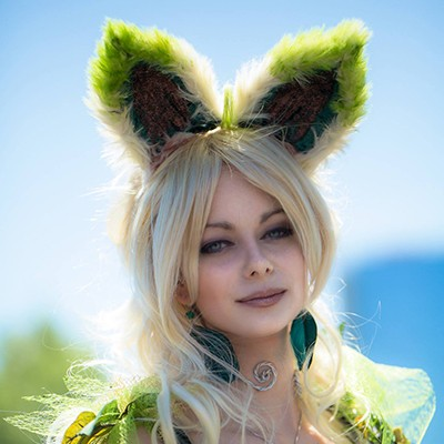 super fluffy cat ears