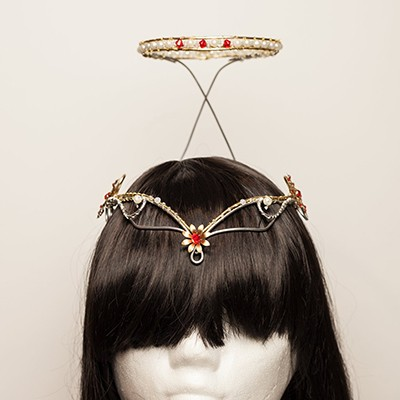 angle headpiece