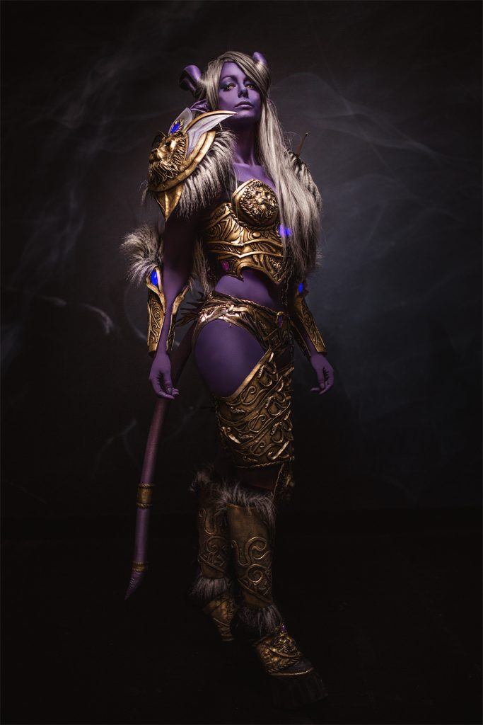 Draenei cosplay world of warcraft