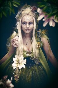 Elf cosplay costume