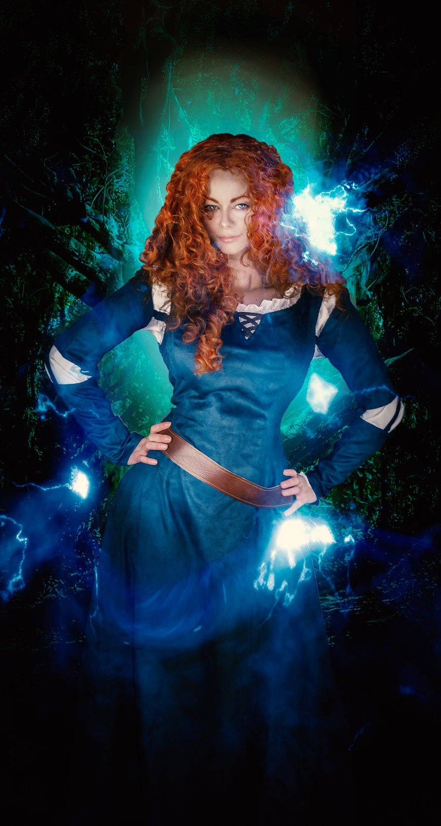 Merida Cosplay Costume