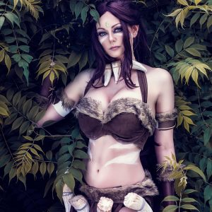 Nidalee_lol_cosplay
