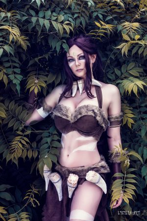 Nidalee_lol_cosplay