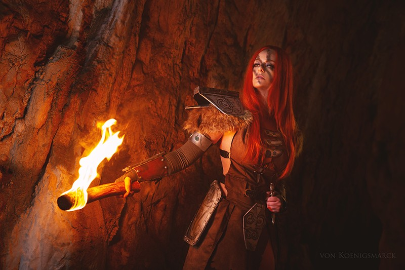 Aela the Huntress Cosplay Eden Craft