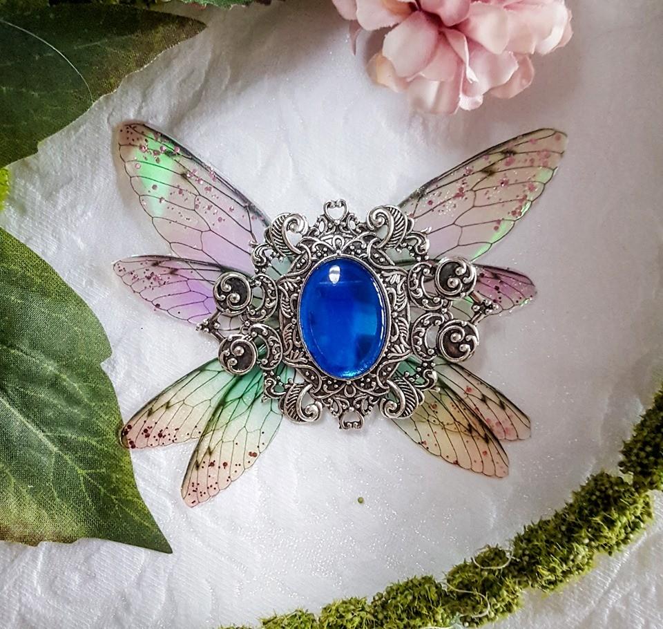 broiche fairy accessoire blue