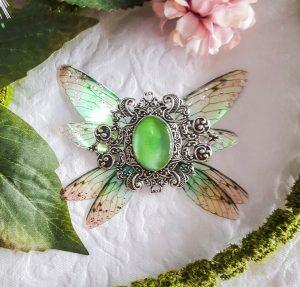 broiche fairy accessoire green