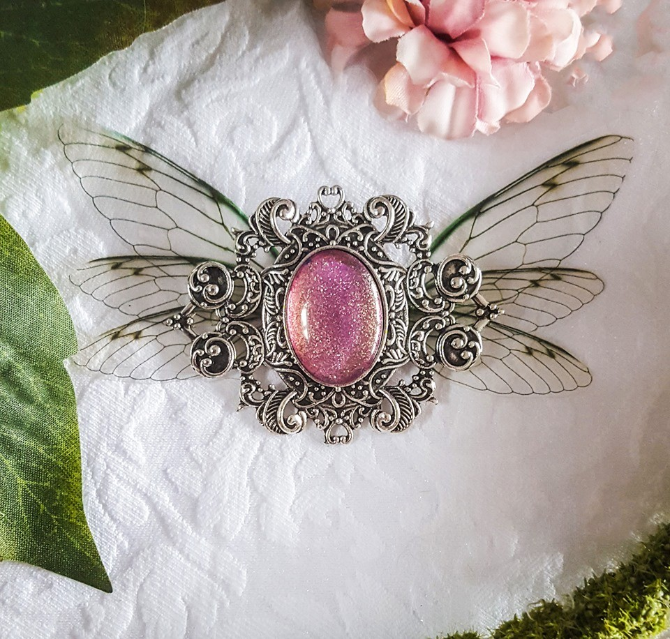 broiche fairy accessoire pink