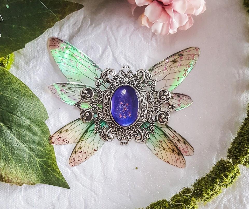broiche fairy accessoire purple