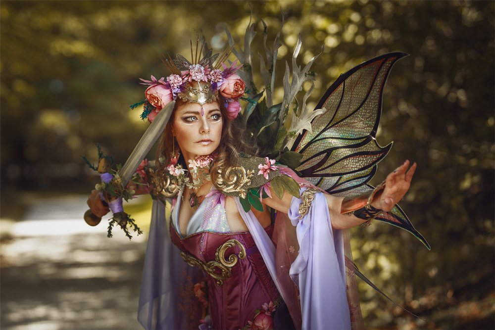 Elifa Arcen fairy Queen Eden Craft
