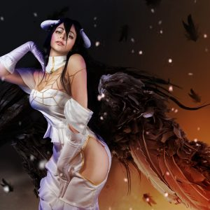 Albedo-Overlord-Cosplay-Eden-craft