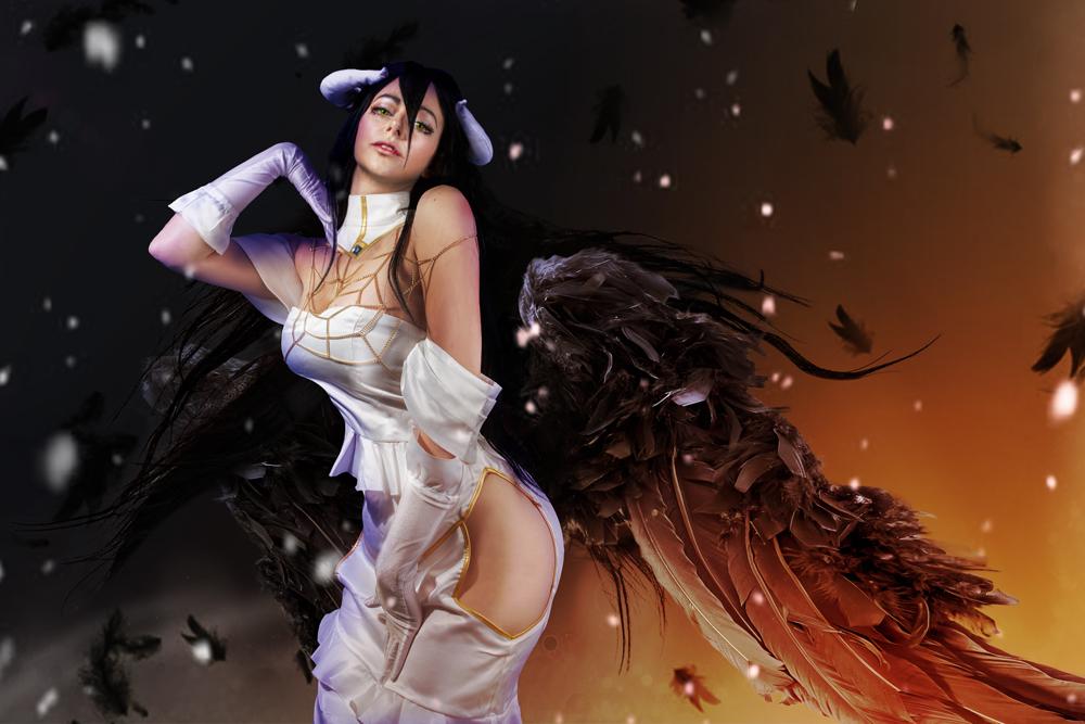 Albedo-Overlord-Cosplay-Eden-craft