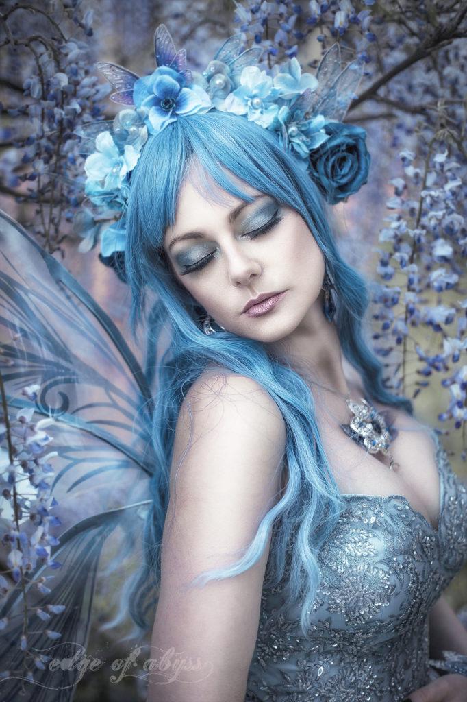 blaue fee portrait
