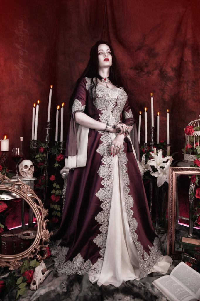 Vampir cosplay Pose