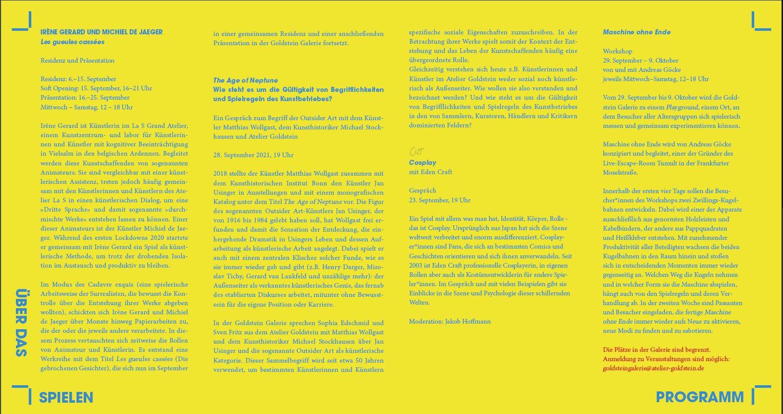 Interview Cosplay Goldstein Galerie